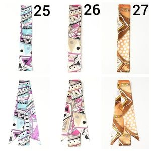 ⤵⤵New! 2pc Design #27 Satin Twilly Scarves
